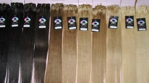 Выбирая волос на трессы на заколках, ориентируйтесь на те обозначения, которые таит в себе этикетка