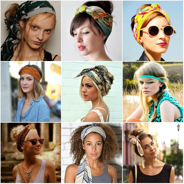 1001 ответ на вопрос, как собрать волосы в повязку