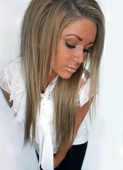 цвет волос серо пепельный фото