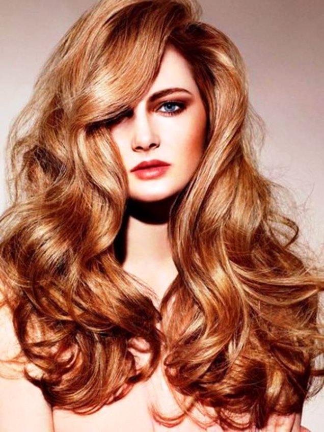 Золотая медь цвет волос