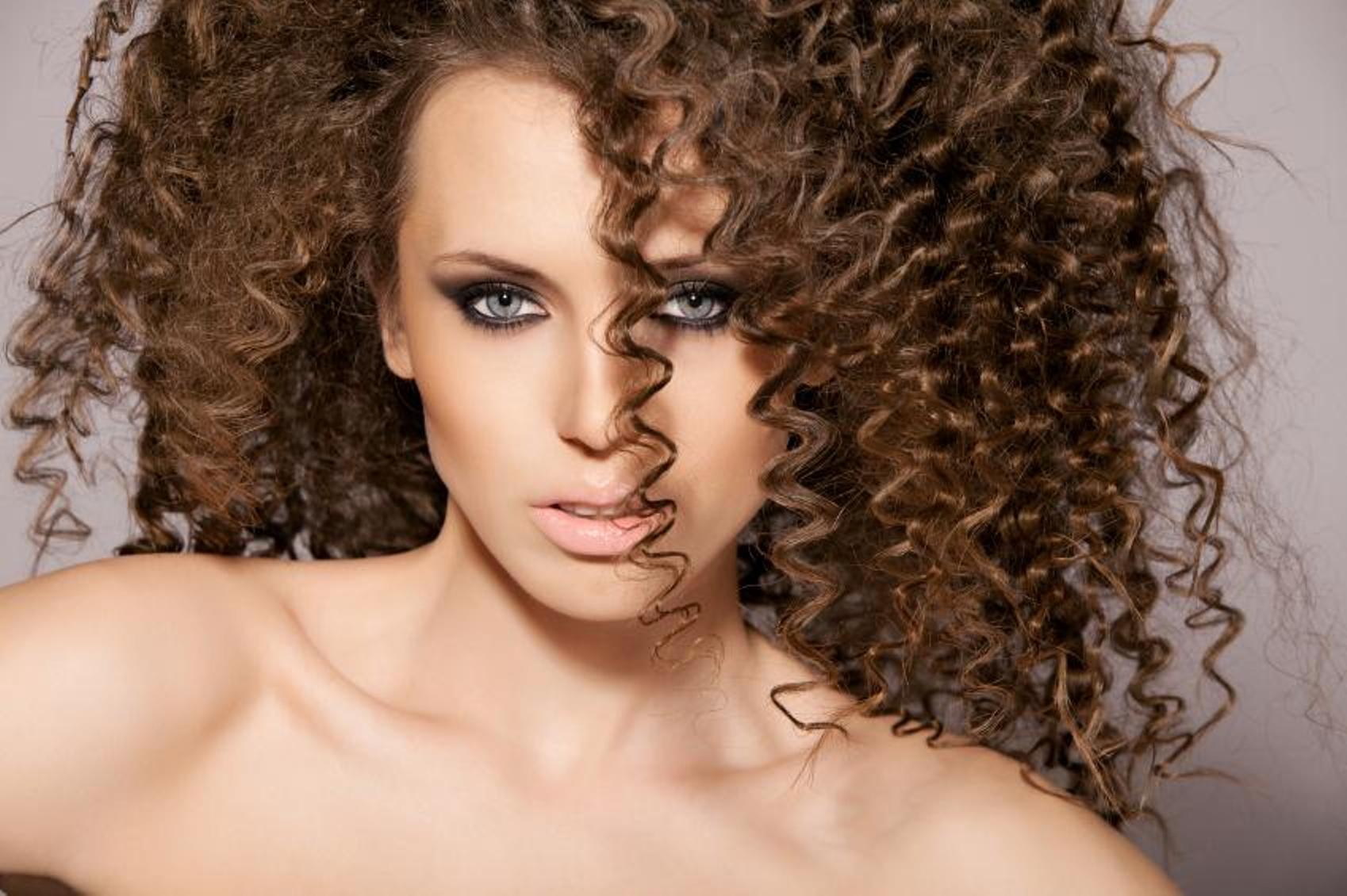 Химия на волосах фотографии