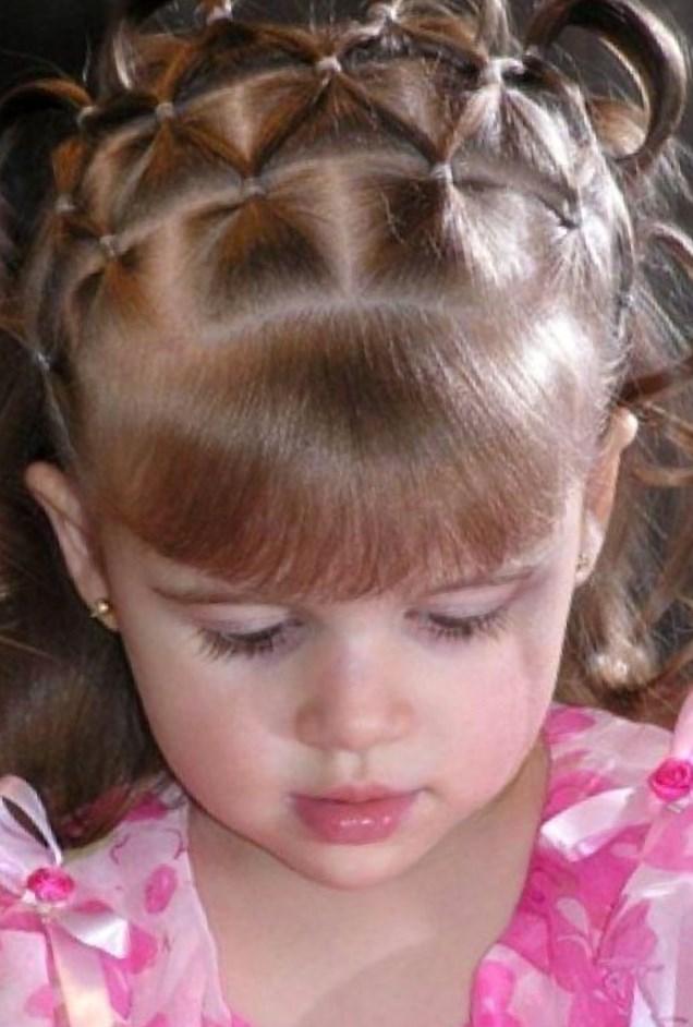 Причёски для детей 3 лет своими руками легкие