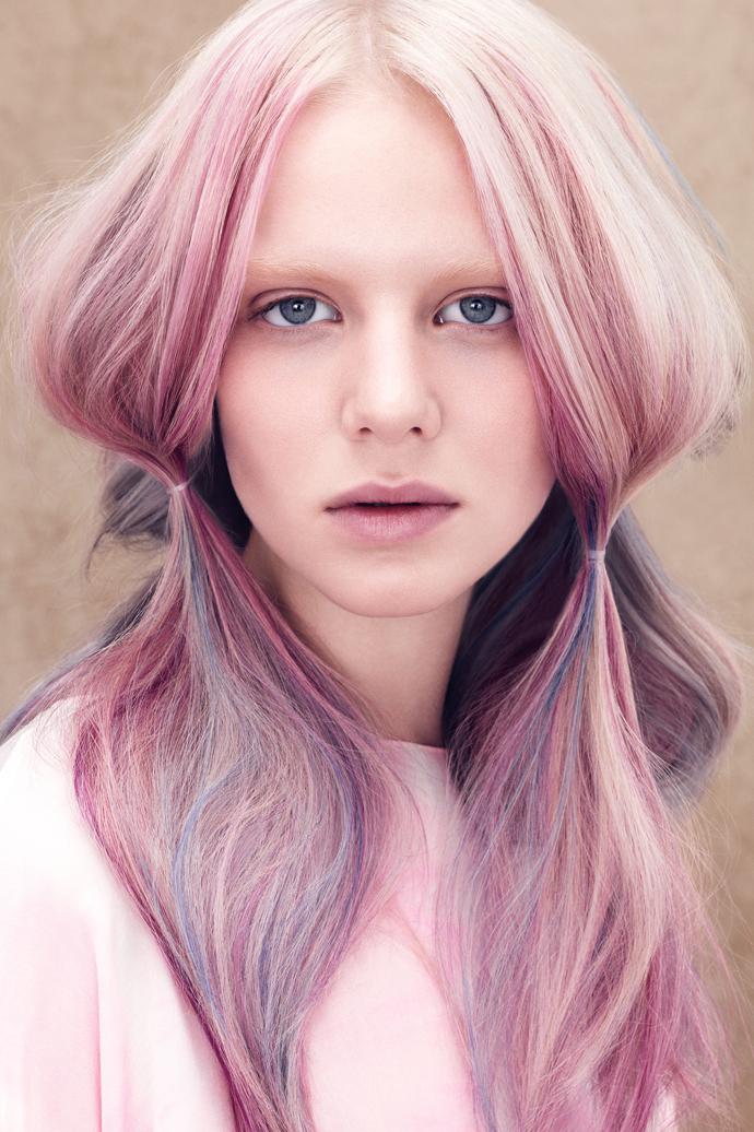 больше активность, светлый блондин фиолетовый на модели состав термобелья