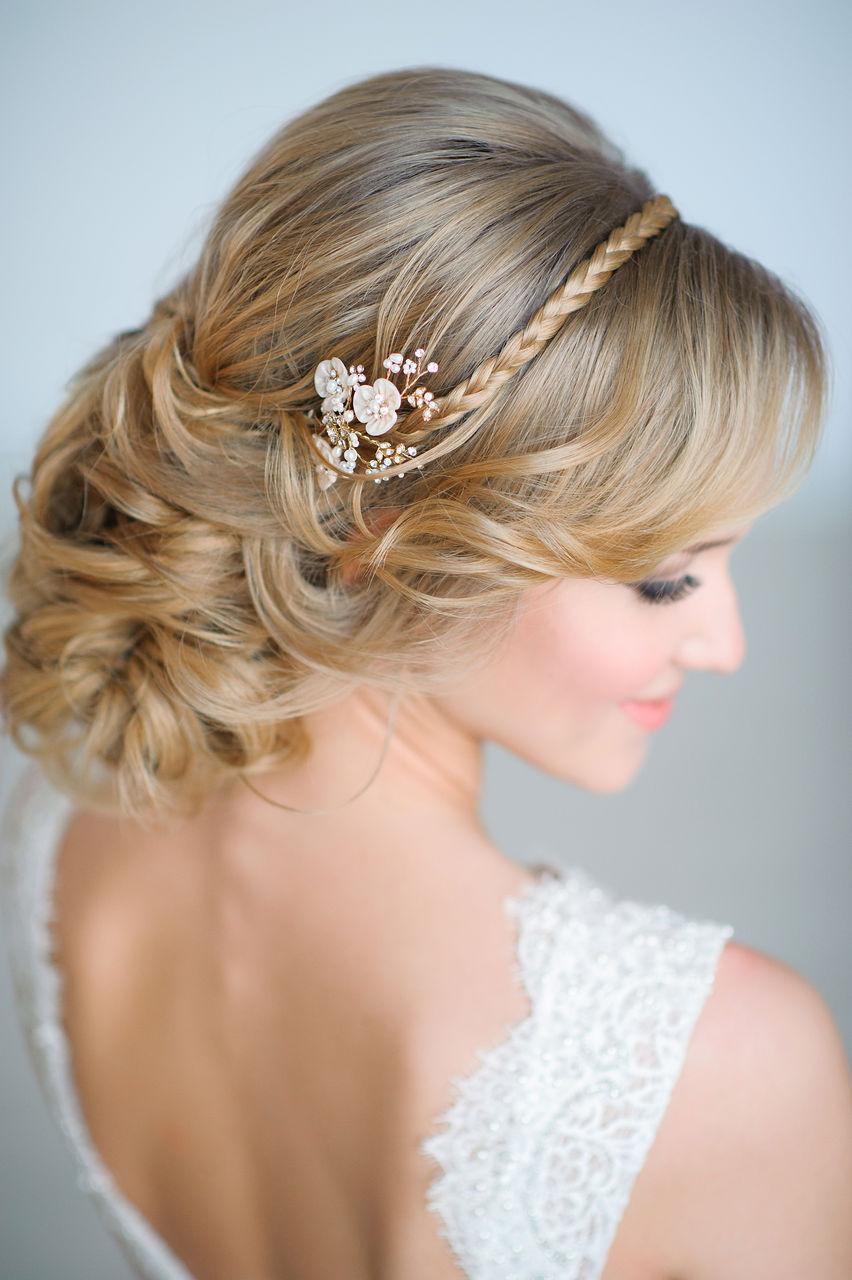 Причёски для свадьбы красивые