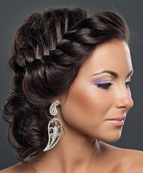 прически на длинный волос собранные фото