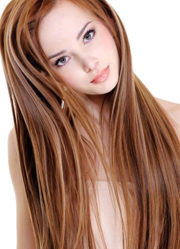 Цвет волос светлый каштан