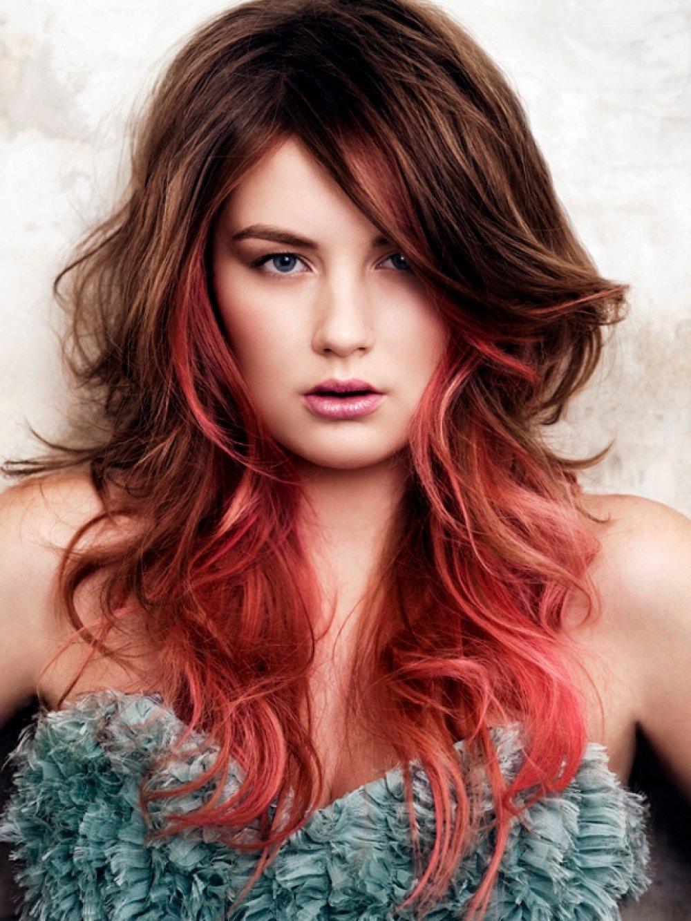 Фото девушек с рыжими и русыми волосами 13 фотография