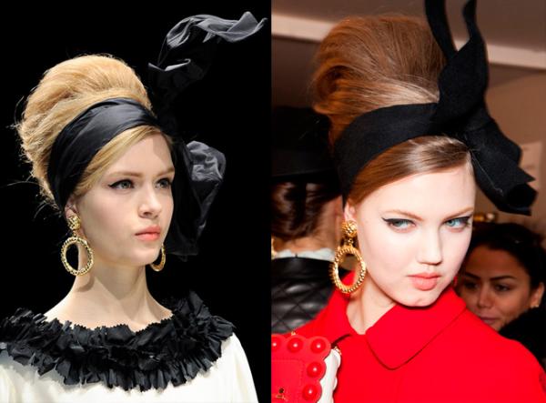 «Бабетта» в интерпретации современных стилистов – показ модного дома Dior