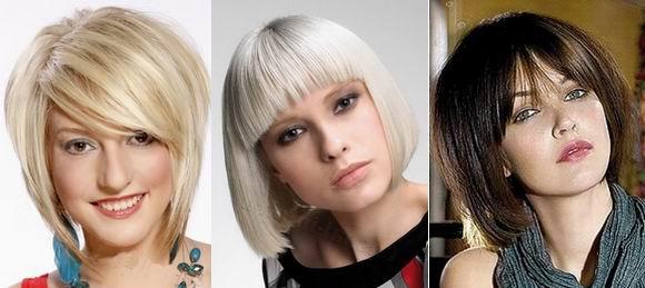 стрижки для редких прямых волос фото