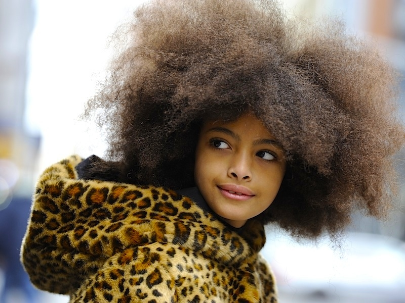 Волосы негритянки
