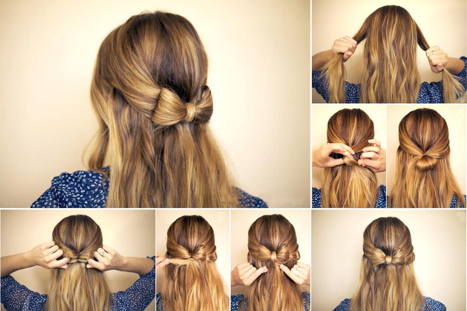 модные и легкие прически для длинных волос