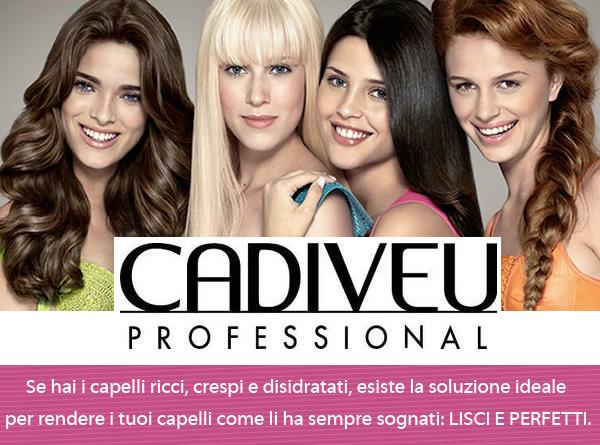 Cadiveu CadiveuProfessional помогает выпрямить волосы надолго в салоне или дома