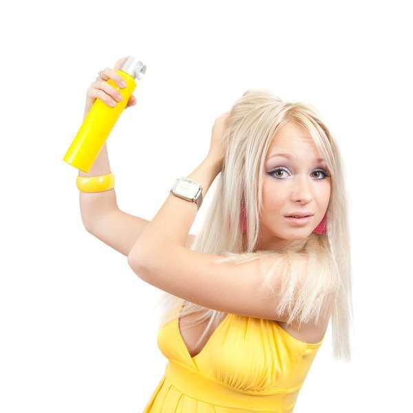Лак для волос своими руками