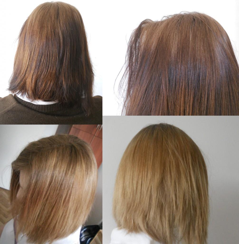 быстро ли смоется темная краска с осветленных волос