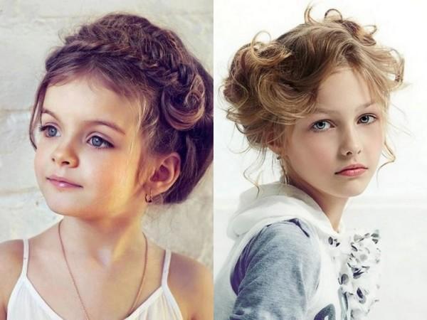 Девочки тоже любят стильно уложенные волосы, как и их мамы