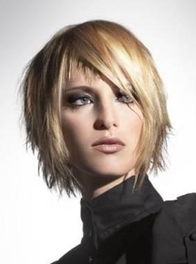Стрижка Асимметрия на короткие волосы (39 фото): видео-инструкция как сделать прическу своими руками, асимметричная челка на длинные и средние локоны, фото и цена
