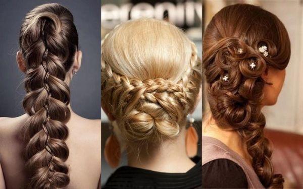 Длинные волосы - замечательная основа для создания очаровательных кос
