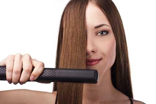 При какой температуре можно выпрямлять волосы утюжком