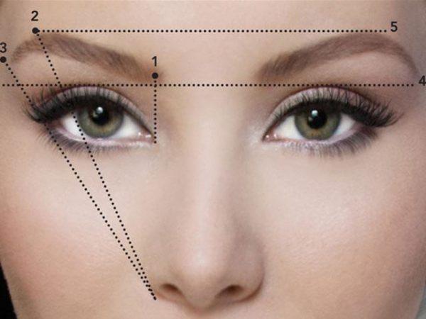 Для получения симметричных волосков можно ориентироваться на заранее прорисованные карандашом точки