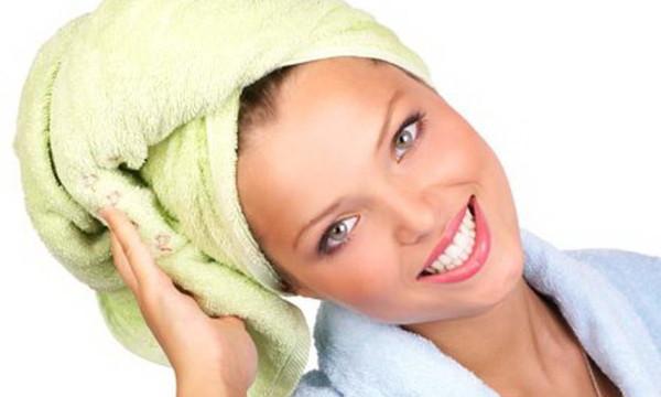 Для усиления эффекта от декапирования, утепляйте голову полотенцем