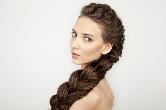 Прическа На Средние Волосы Инструкция Косы