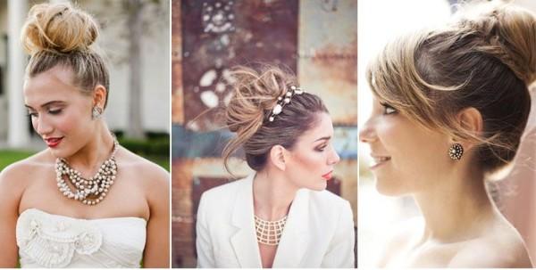Элегантные украшения для волос и несколько вытянутых у лица локонов станут завершающим аккордом изысканного образа