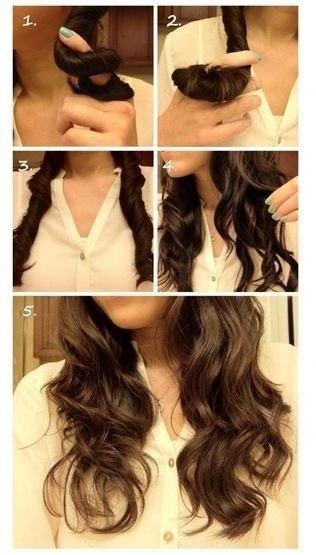 Как сделать кудрявые волосы мягкими
