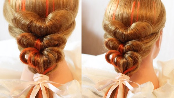 Это решение подойдет и для средней длины волос