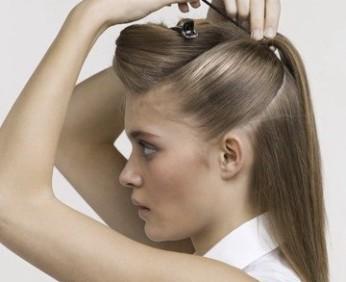 Как красиво заколоть распущенные волосы длинные