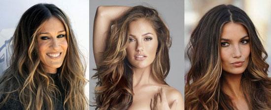 Как можно покрасить брюнетке волосы фото