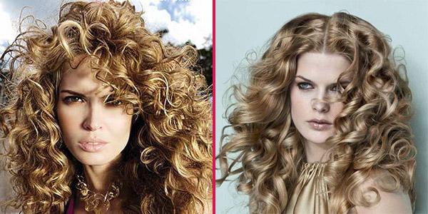Фото демонстрирует, что крупные завитки больше подходят длинным волосам