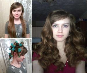 Фото: до и после использования липучек
