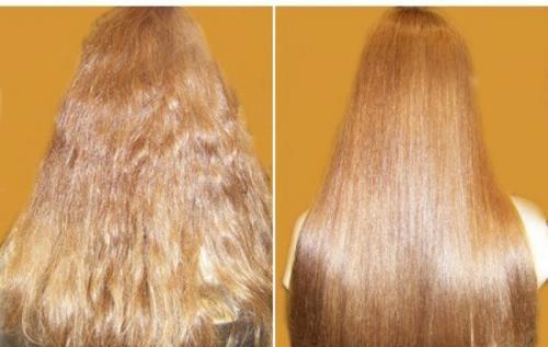 Сколько делать желатиновые маски для волос