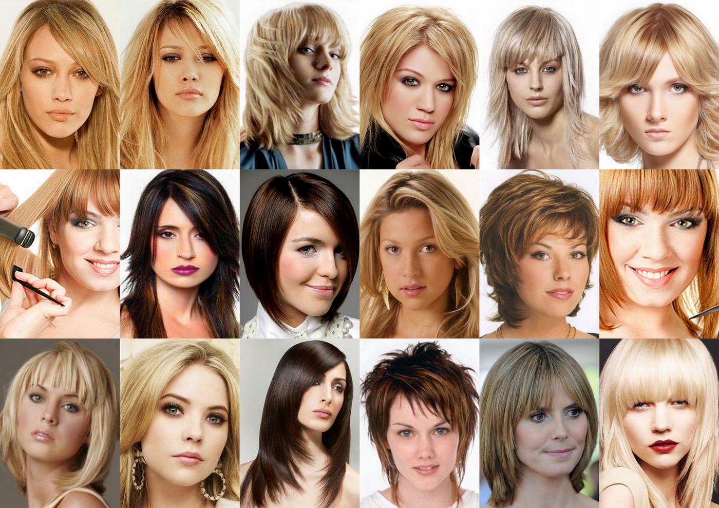 Прически для филированных волос