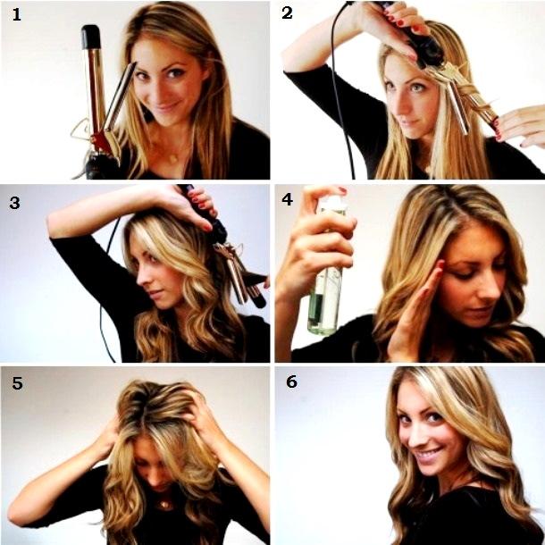 Завить волосы своими руками
