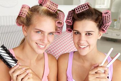 Фото пластмассовые бигуди достаточно удобны в использовании