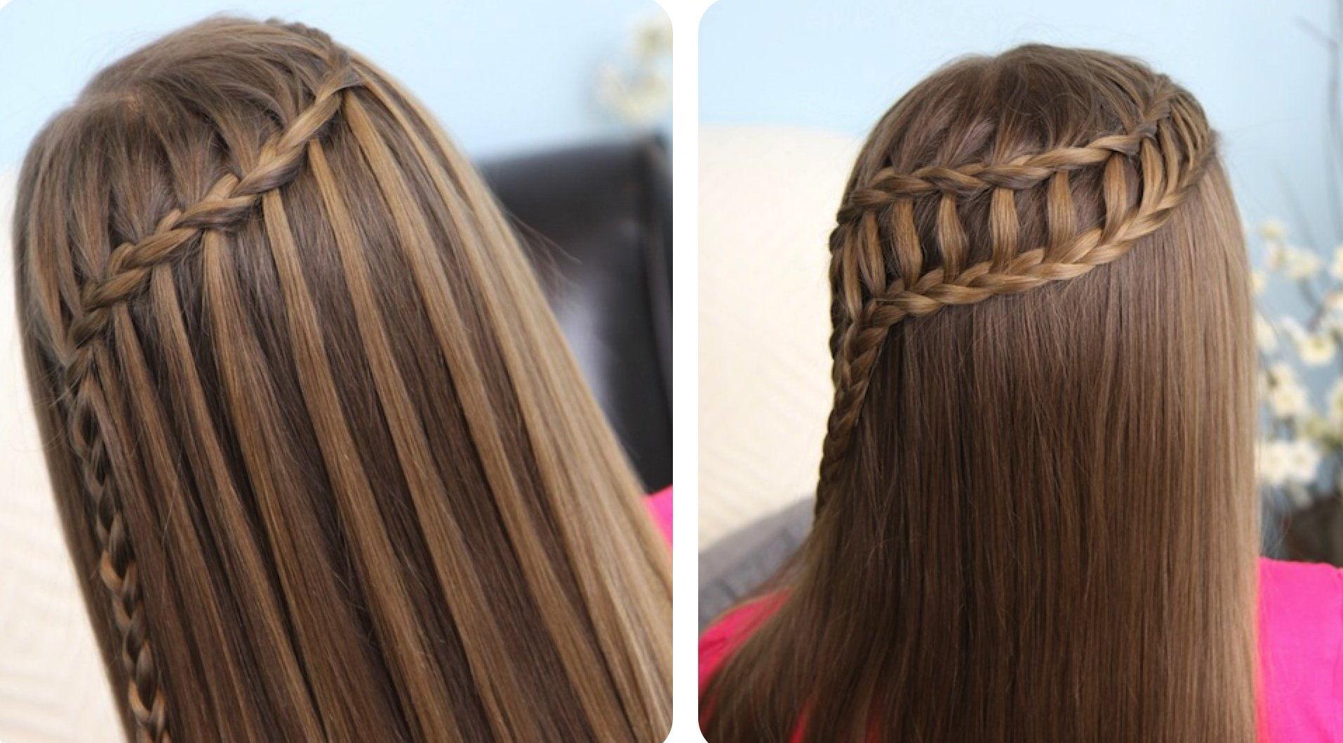 прически на длинные волосы с плетением фото схемы