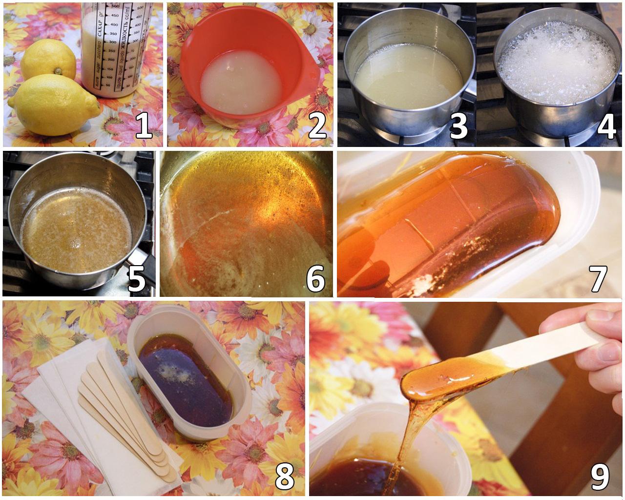 Как приготовить шугаринга в домашних условиях