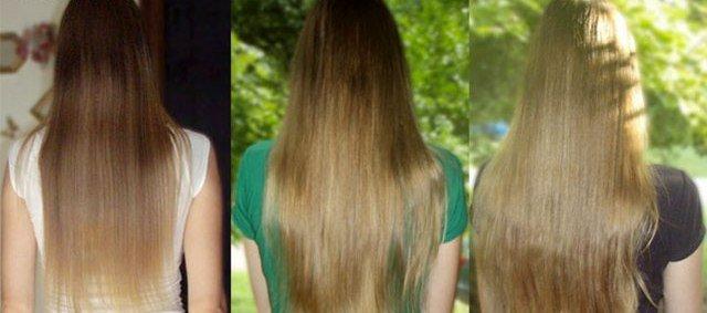 Осветлители для волос в домашних условиях