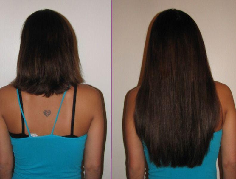 сколько сантиметров волосы за год вырастают