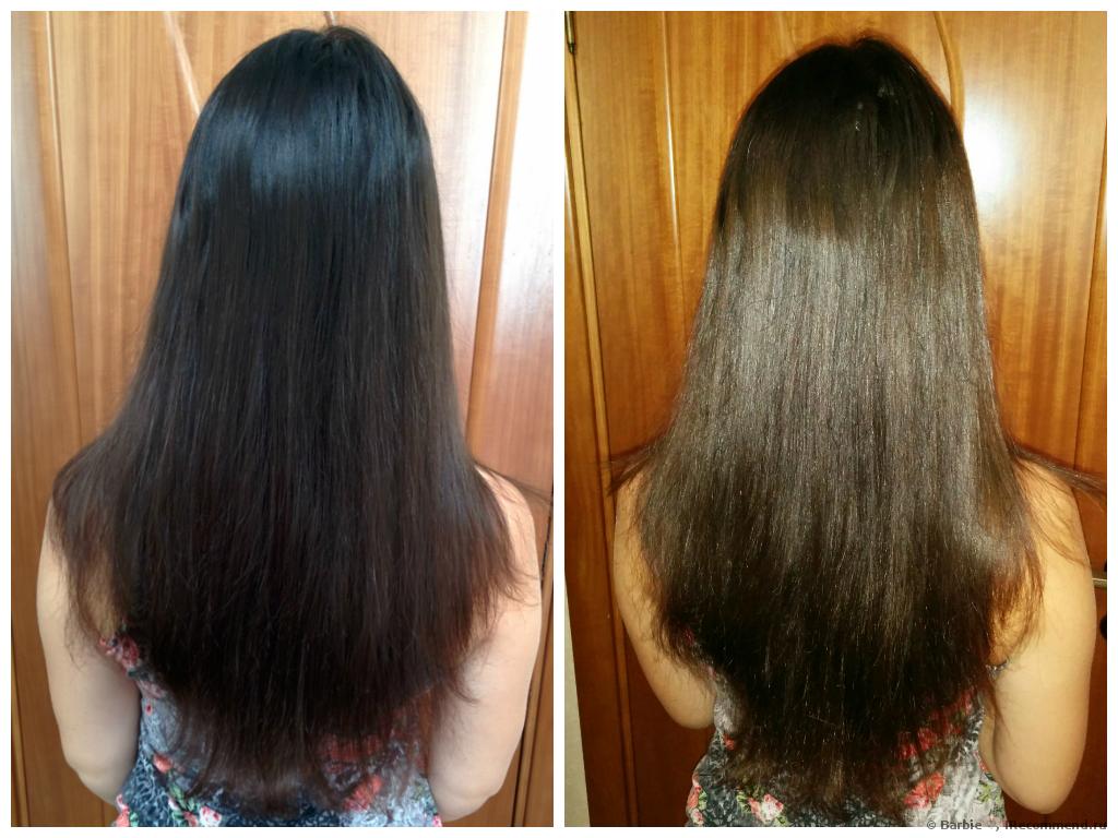 Сколько держать для смывки краски касторовое масло на волосах