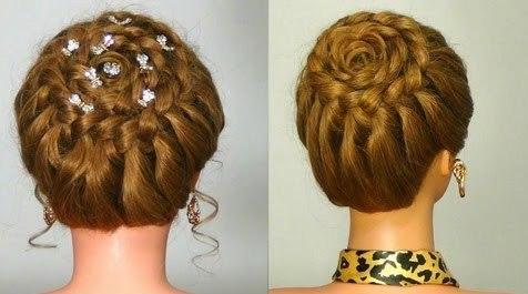 Фото: такая причёска украсит и дополнит ваш образ