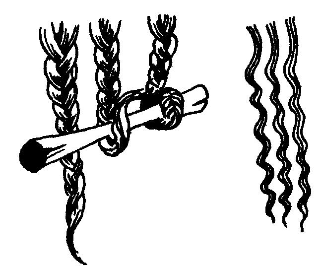 завивки на косичку
