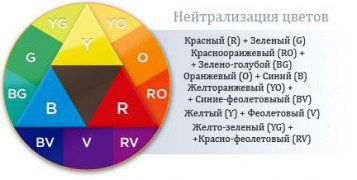 Фото: цветовой круг