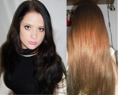 чем вывести черную краску с волос