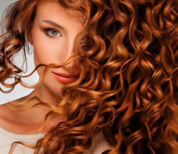 Фото волос после проведения салонной процедуры долговременной завивки кудрей