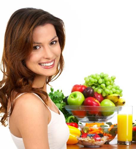Фрукты и овощи должны входить в ежедневный рацион