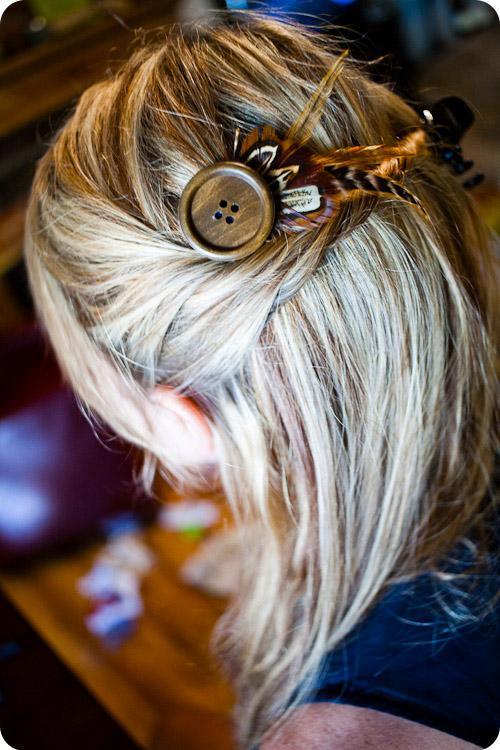 Как украсить заколки на волосы своими руками
