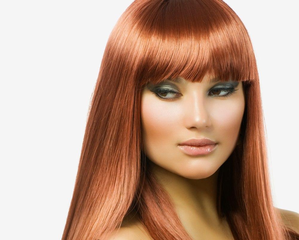 Рыжий цвет волос как получить