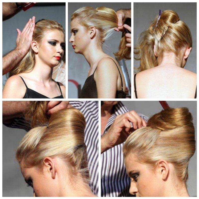прическа ракушка пошаговая инструкция на длинные волосы